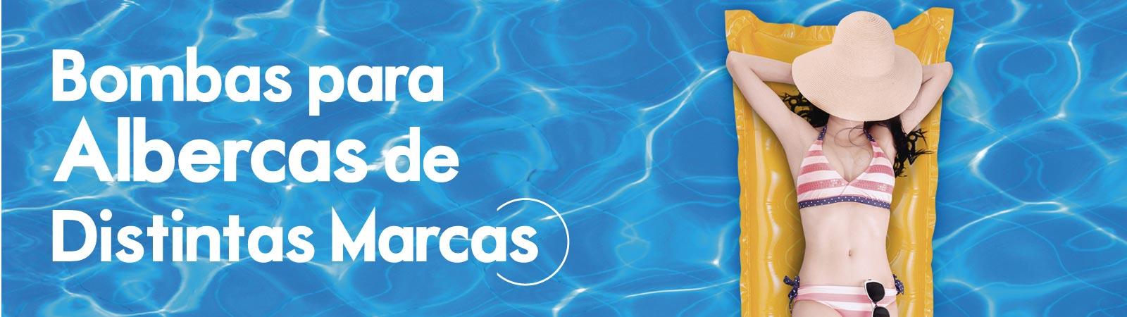Motobombas para Albercas de varias marcas