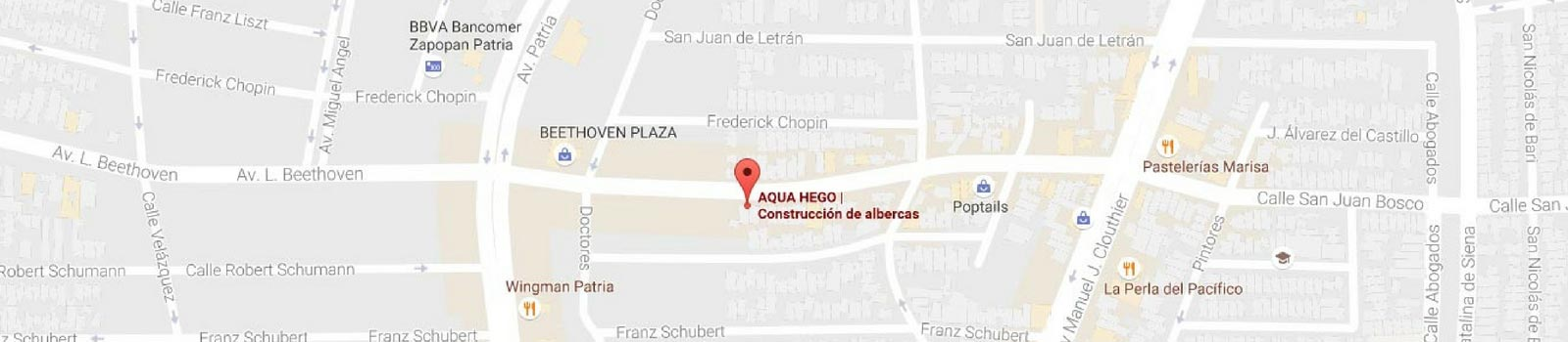 Google Maps Bombas para Albercas